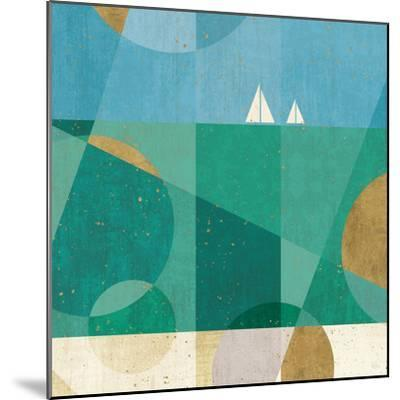 Seascape IV-Veronique Charron-Mounted Art Print