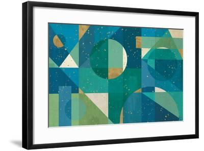Geo Contour I-Veronique Charron-Framed Art Print