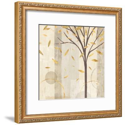 Watercolor Forest Gold III-Veronique Charron-Framed Art Print