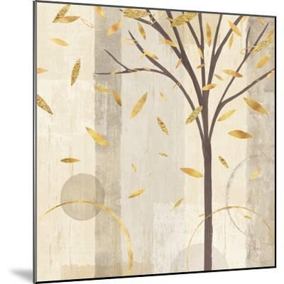 Watercolor Forest Gold III-Veronique Charron-Mounted Art Print