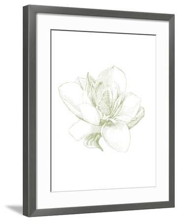 Le Jardin Printemps Pattern I Magnolia-Sue Schlabach-Framed Art Print
