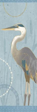 By the Shore V-Veronique Charron-Stretched Canvas Print