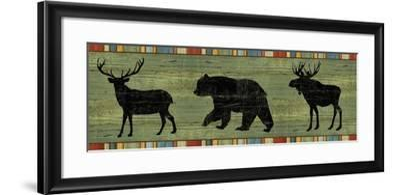 Lake Lodge XIII-Sue Schlabach-Framed Art Print