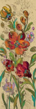 July Garden Trio I on Cream-Silvia Vassileva-Framed Art Print