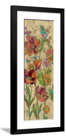 July Garden Trio II on Cream-Silvia Vassileva-Framed Art Print