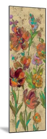 July Garden Trio II on Cream-Silvia Vassileva-Mounted Art Print