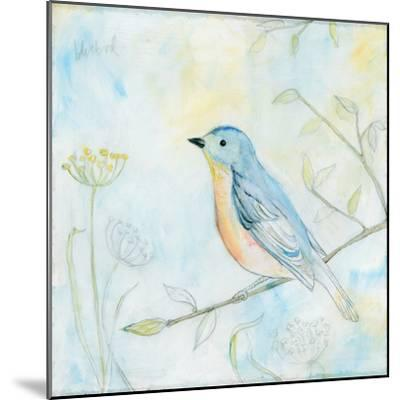 Sketched Songbird II-Sue Schlabach-Mounted Art Print