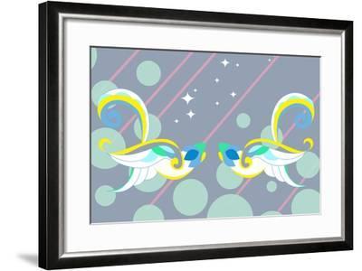 Birds of Love--Framed Art Print
