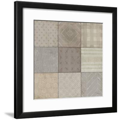 Country Collage I--Framed Art Print