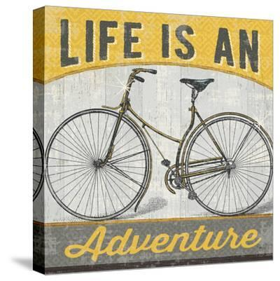 Life is an Adventure--Stretched Canvas Print