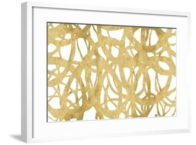 Endless Circles Front Gold IV-Wild Apple Portfolio-Framed Art Print