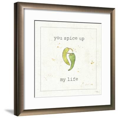 Spice Notes II--Framed Art Print