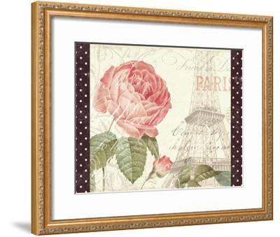 La Vie En Rose I with Border--Framed Art Print