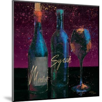 Wine Splash Dark III--Mounted Art Print