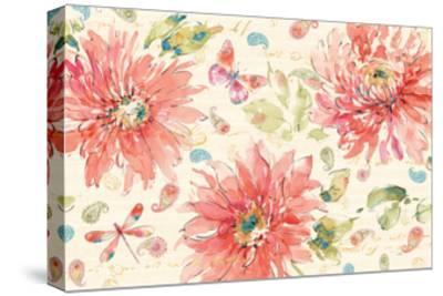 Happy Gypsy I--Stretched Canvas Print