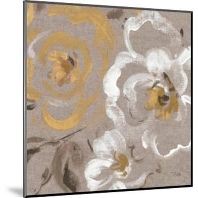 Brushed Petals III Gold--Mounted Art Print
