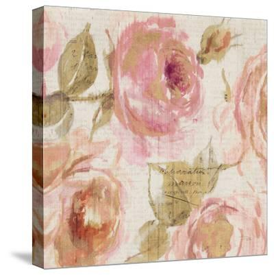 Touch of Rose III--Stretched Canvas Print
