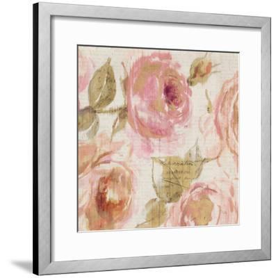 Touch of Rose III--Framed Art Print