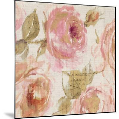 Touch of Rose III--Mounted Art Print