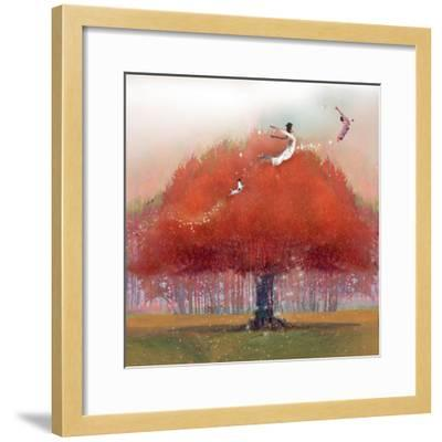 Up We Go-Nancy Tillman-Framed Art Print
