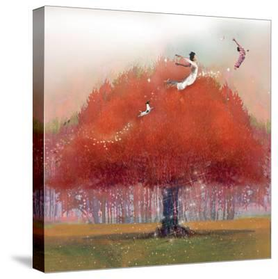 Up We Go-Nancy Tillman-Stretched Canvas Print
