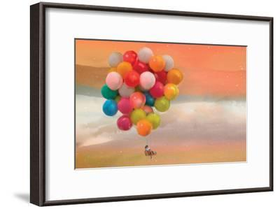 Balloon Ride-Nancy Tillman-Framed Art Print