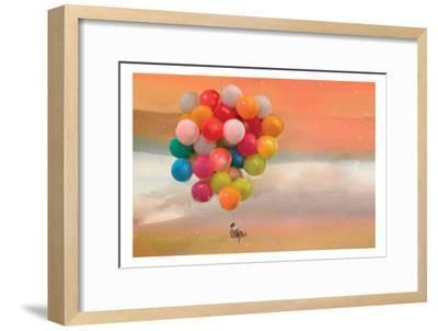 Balloon Ride-Nancy Tillman-Framed Art Print