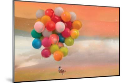 Balloon Ride-Nancy Tillman-Mounted Art Print
