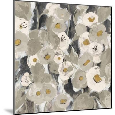 Velvety Florals Neutral II-Silvia Vassileva-Mounted Art Print