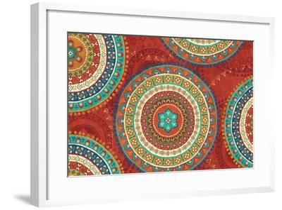 Mexican Fiesta VII-Veronique Charron-Framed Art Print