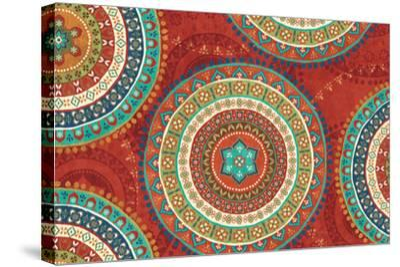 Mexican Fiesta VII-Veronique Charron-Stretched Canvas Print