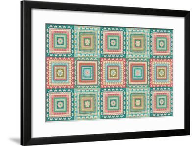 Gypsy Wings Bright X-Veronique Charron-Framed Art Print