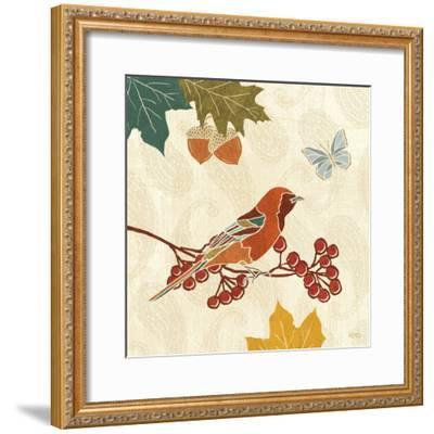 Autumn Song VIII-Veronique Charron-Framed Art Print
