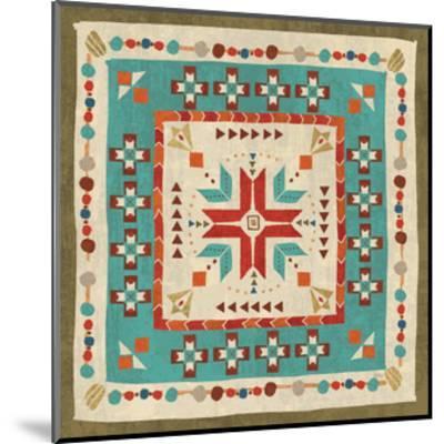 Southwest at Heart Tile VII-Veronique Charron-Mounted Art Print