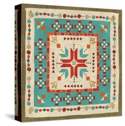 Southwest at Heart Tile VII-Veronique Charron-Stretched Canvas Print