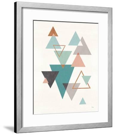 Abstract Geo II-Veronique Charron-Framed Art Print