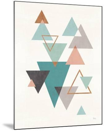 Abstract Geo II-Veronique Charron-Mounted Art Print
