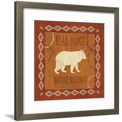 Lodge Resort I-Veronique Charron-Framed Art Print