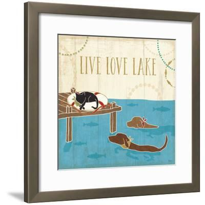 Lake Pals V-Veronique Charron-Framed Art Print
