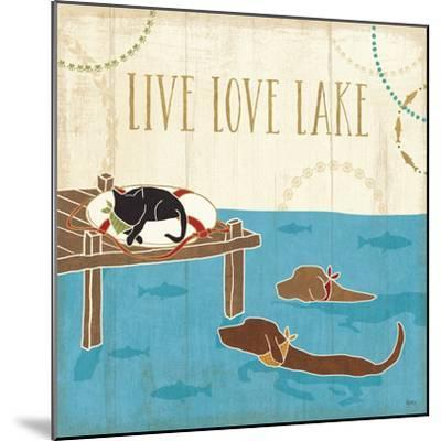 Lake Pals V-Veronique Charron-Mounted Art Print