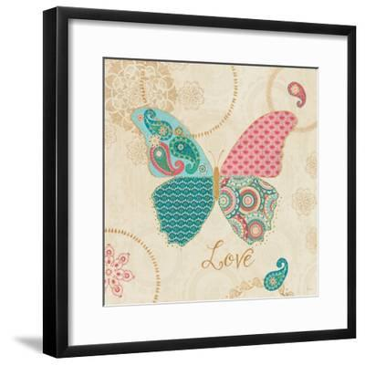 Gypsy Wings Bright II-Veronique Charron-Framed Art Print