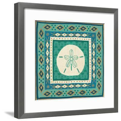 Coastal Treasure VII-Veronique Charron-Framed Art Print