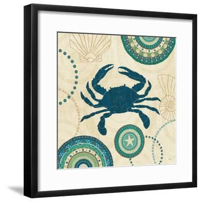 Coastal Treasure IV-Veronique Charron-Framed Art Print