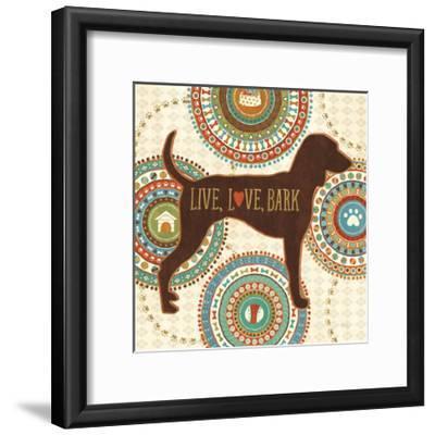 Dogs Life IV-Veronique Charron-Framed Art Print