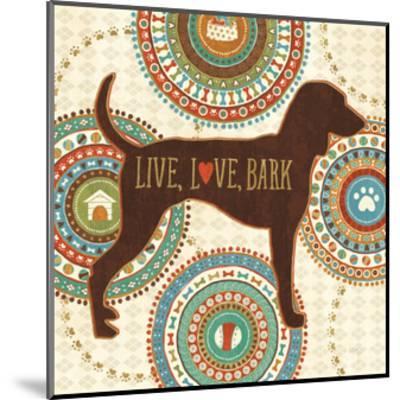 Dogs Life IV-Veronique Charron-Mounted Art Print