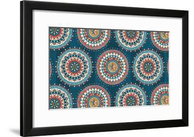 Celebrate USA VIII-Veronique Charron-Framed Art Print