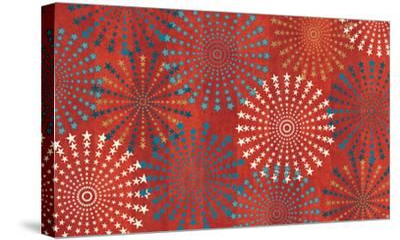 Celebrate USA VII-Veronique Charron-Stretched Canvas Print