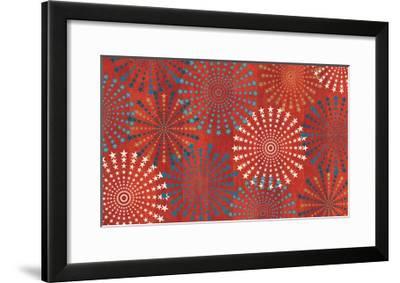 Celebrate USA VII-Veronique Charron-Framed Art Print