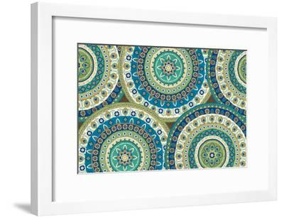 Peacock Paradise IV-Veronique Charron-Framed Art Print