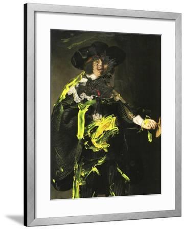 Yellow Vanguard II-PI Studio-Framed Art Print